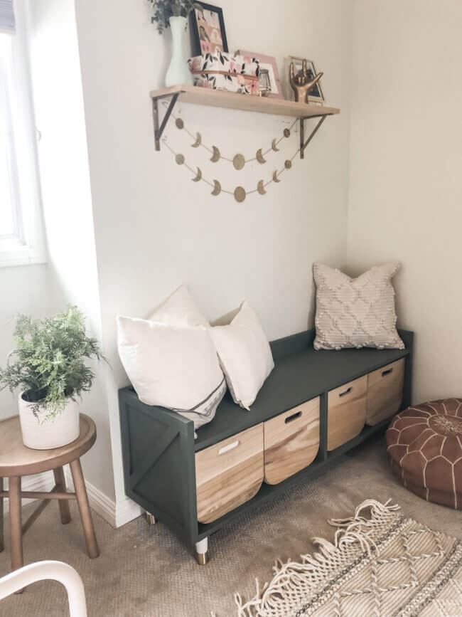 DIY Storage Bench