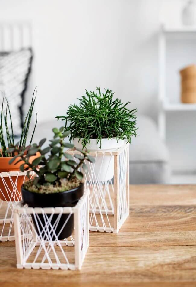 Diy Decorative Plants Stands
