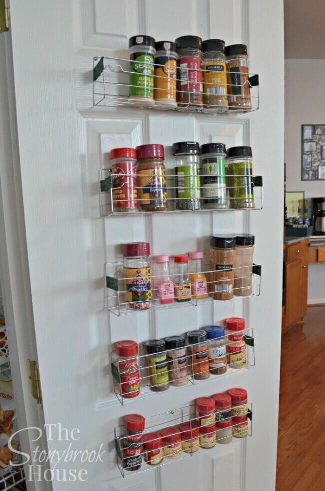 Easy $1 DIY Spice Racks!