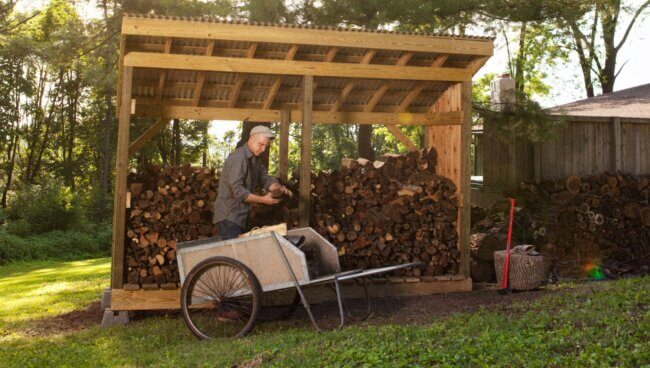 How To Build a Firewood Shack