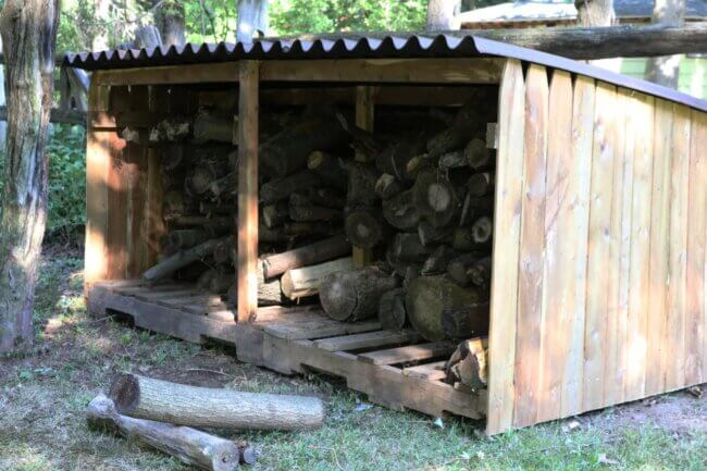 How to Build an Outdoor Firewood Storage Shed