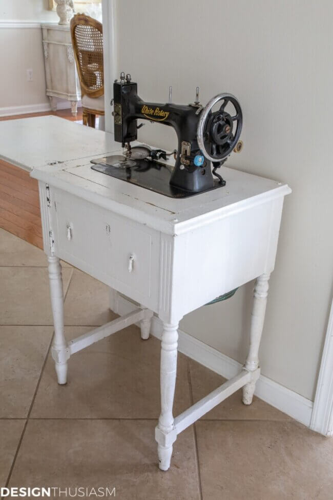 Sewing Machine Table Diy: Transforming A Vintage Sewing Cabinet