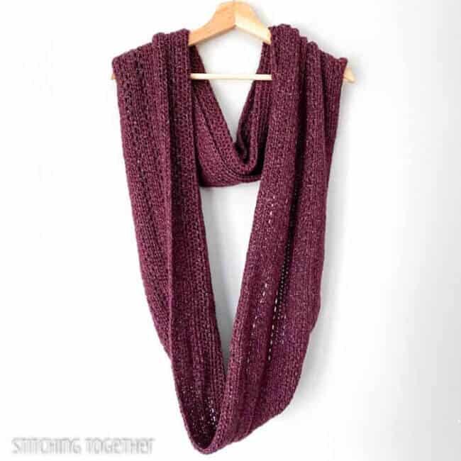 The Hartfield Oversized Infinity Scarf Crochet Pattern