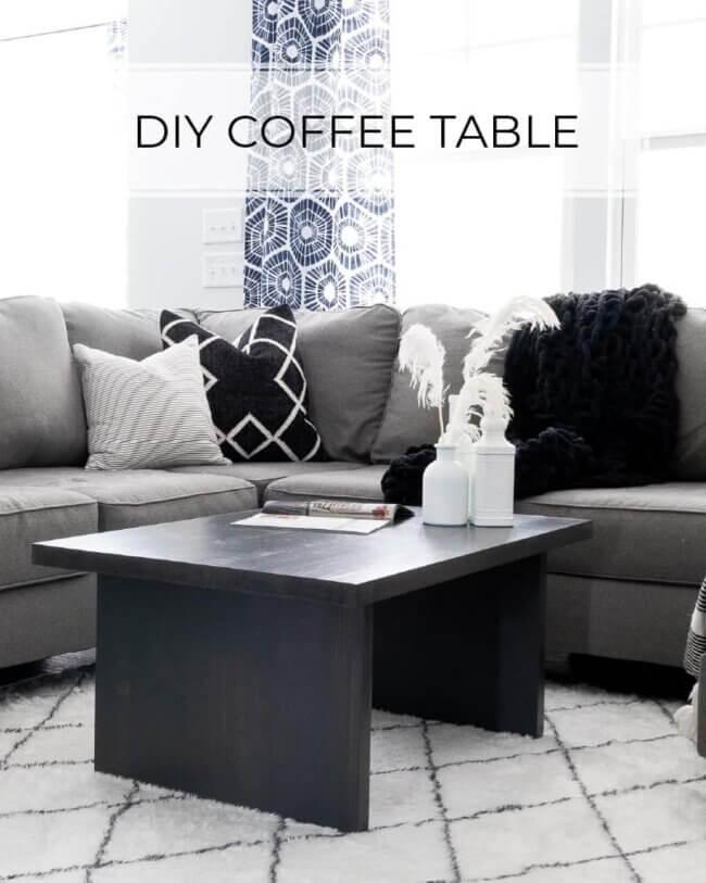 $30 DIY Coffee Table Plans