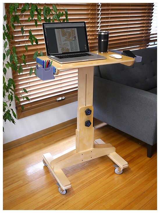 Adjustable Laptop Desk Project Plan