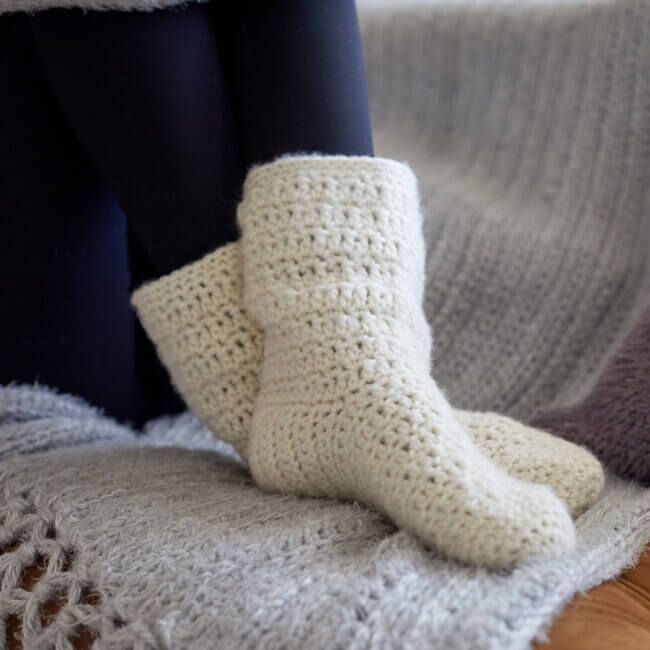 At Home Slouchy Socks