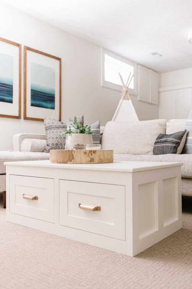 Coffee Table With Storage | Free Plans