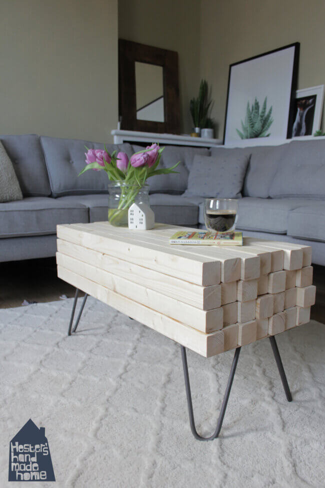 DIY for Dummies, make your own coffee table