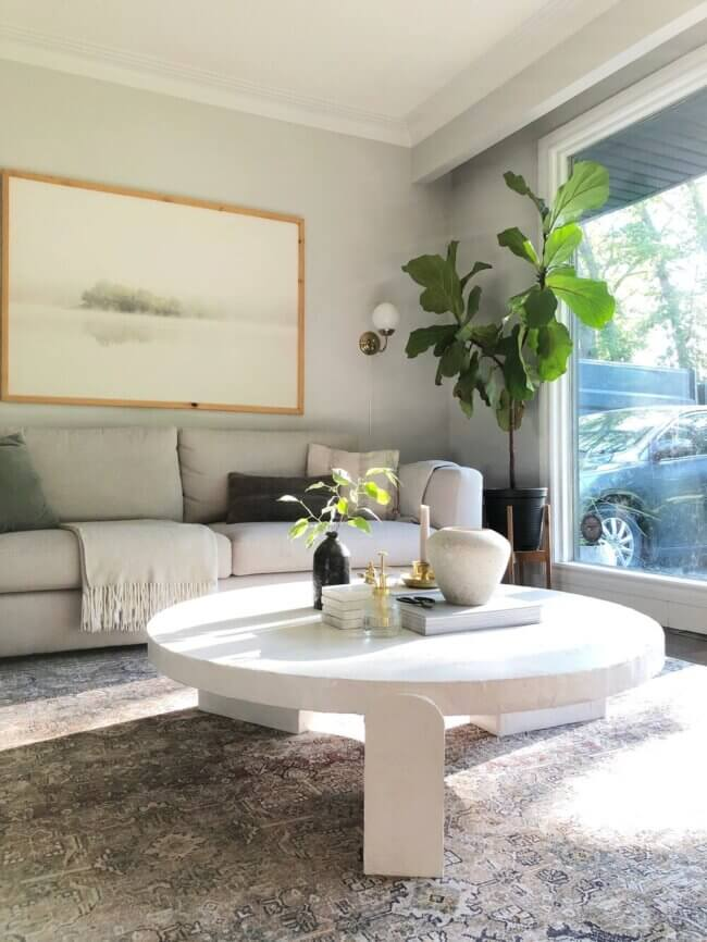 How To: Diy Plaster Coffee Table
