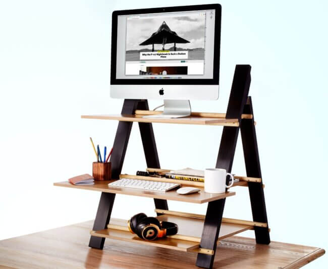 It's Time To Make a Stand-Up Desk