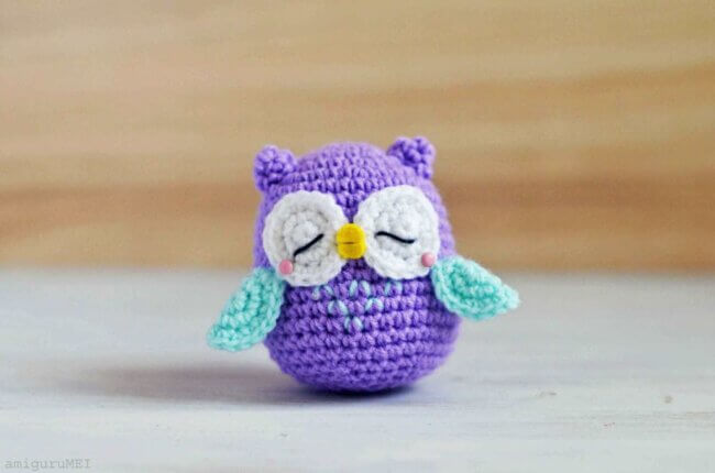 Owl Amigurumi – Mr Murasaki