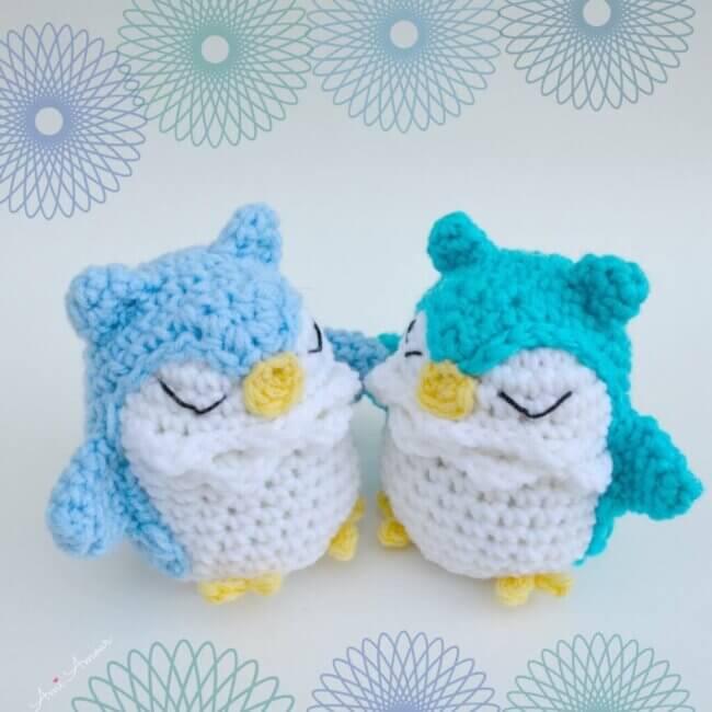 "Owl Amigurumi Pattern ""Dreamland"""