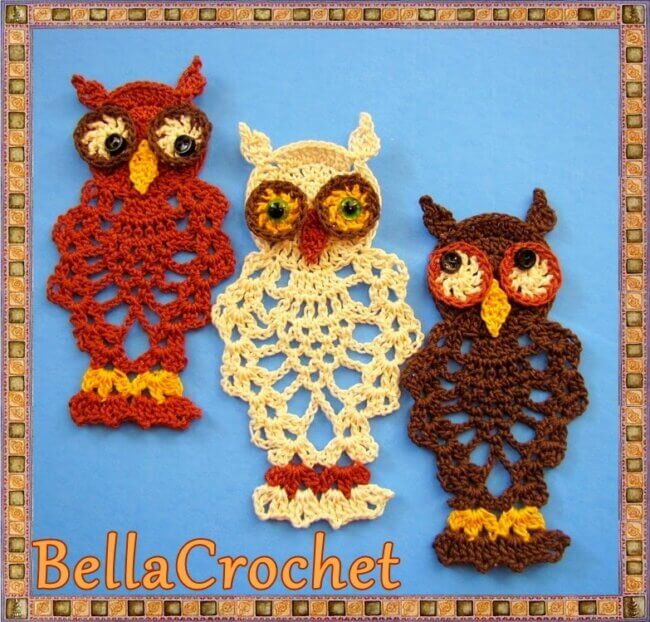 Pineapple Owl Ornament or Bookmark