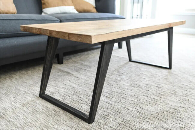 Simple Modern Coffee Table Build Plans