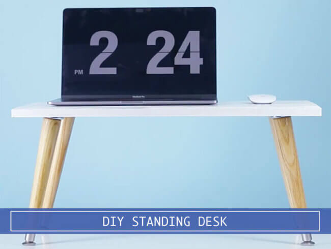 Step by Step Overview of a DIY Standing Desk
