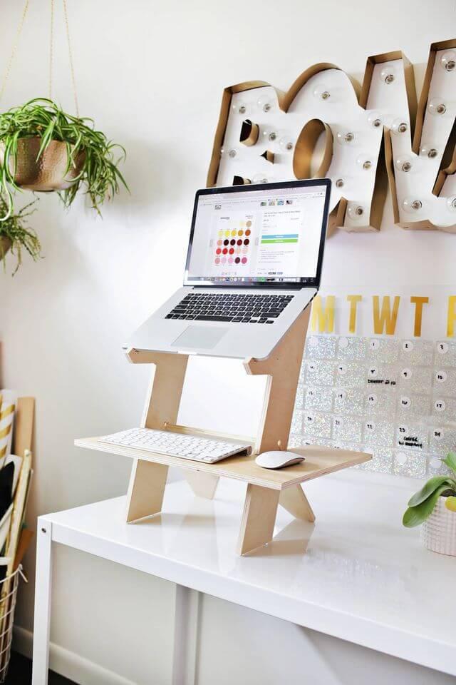 Tabletop Standing Desk Diy