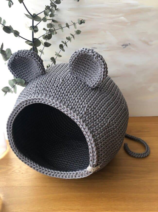 Crochet cat bed, Cat bed, cat cave