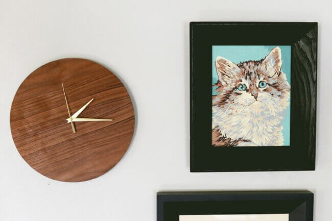 DIY Wall Clock – A Simple Wooden Project