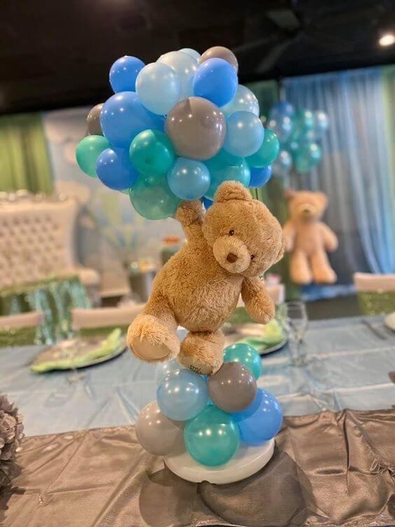 Floating Teddy Bear Centerpiece