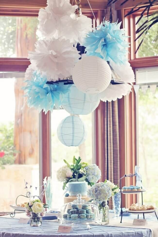Petite Garcon Rustic French Inspired Baby Shower