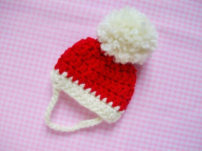 Santa Dog Hat Crochet Pattern