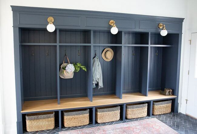 Mudroom Lockers – How We Built Them From Scratch!
