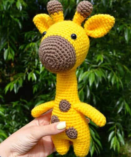 Amigurumi Giraffe Free Pattern