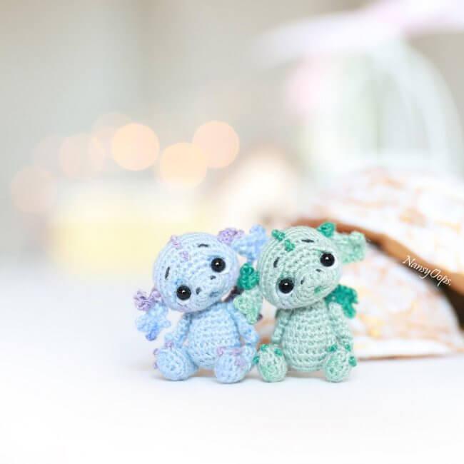 Crochet Miniature Dragons