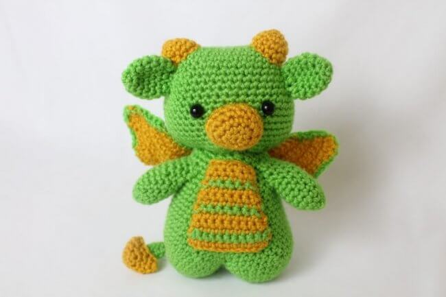 Dragon Amigurumi – Free Crochet Pattern