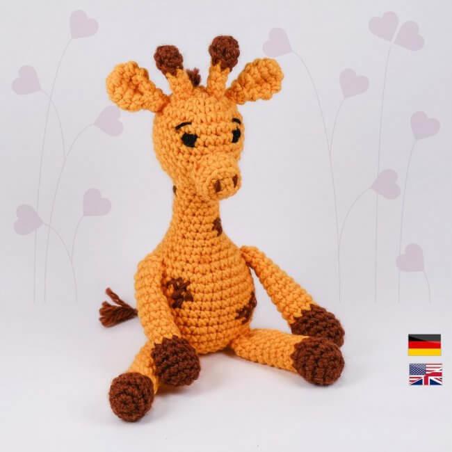 Giraffe 'Glenn' crochet pattern