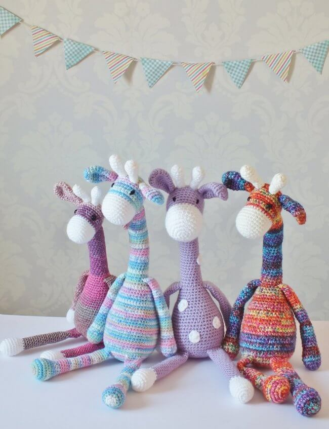 Amigurumi PATTERN Crochet Giraffe Toy