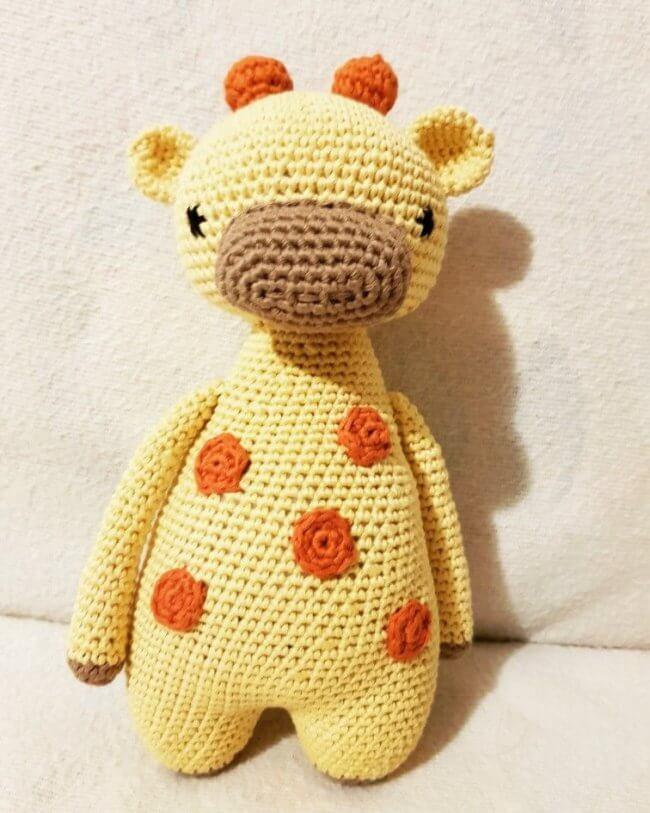 Baby Giraffe - Amigurumi