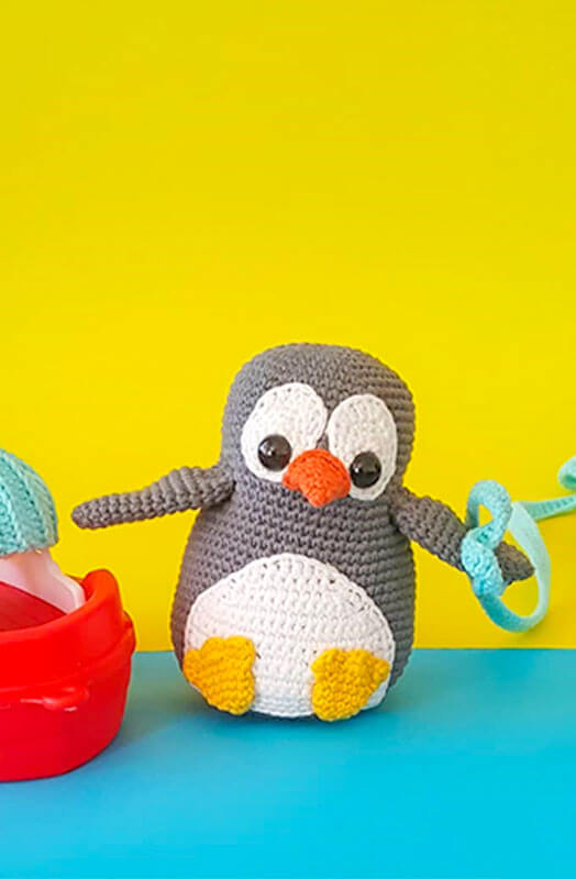 Ben The Penguin Free Amigurumi Crochet Pattern