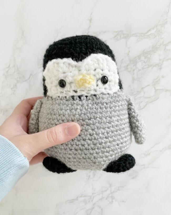 Crochet Baby Penguin Amigurumi