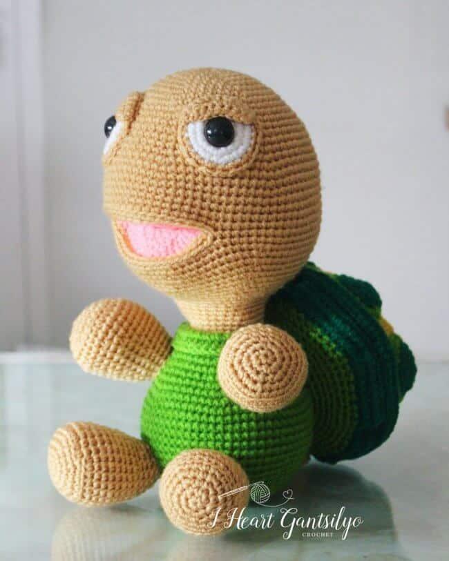 Crochet Buddy Turtle