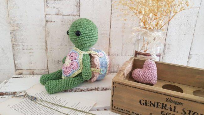 Crochet Turtle, Lottie
