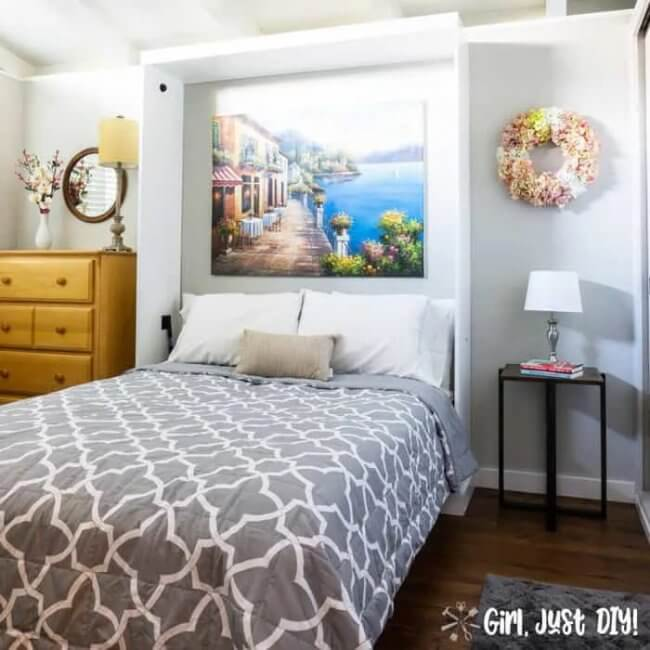 DIY Murphy Bed Project from a Kit