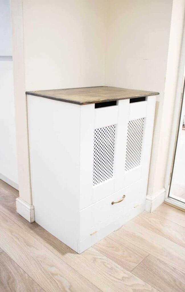 Diy Kitchen Recycling Bins Cupboard