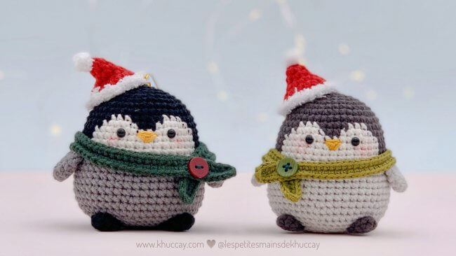 FREE pattern – Pew the baby penguin