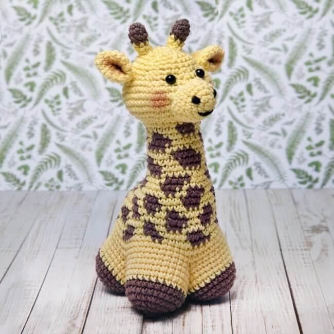 George The Giraffe Crochet Pattern