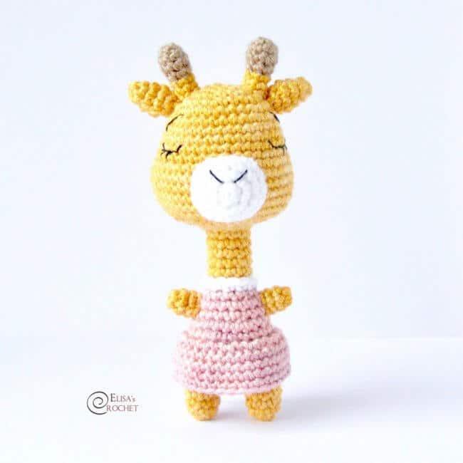 Giraffe Free Crochet Pattern