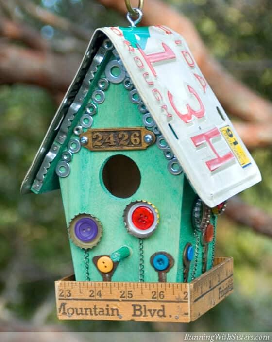 How To Make A Flea Style Birdhouse