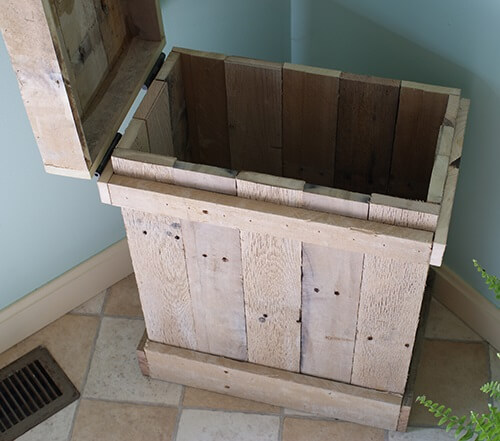 How to Make a Wood Pallet Recycle Bin