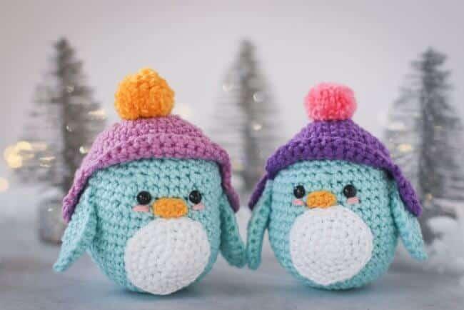 Little Winter Penguin