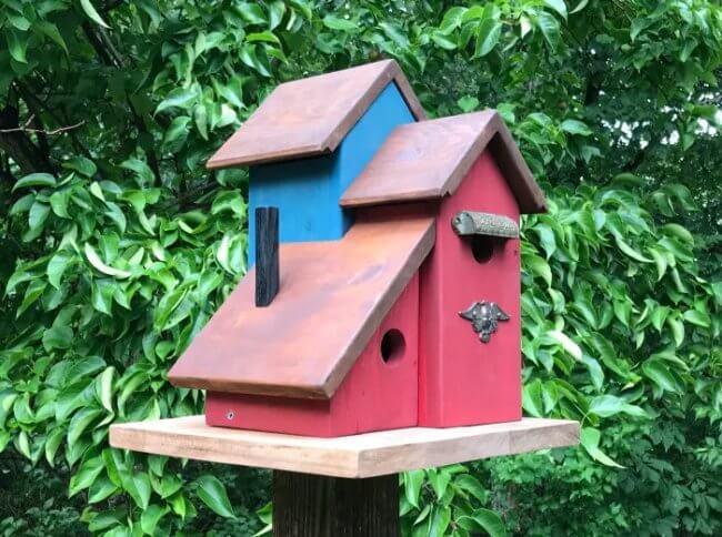 Multi-Unit Condo for the Birds: DIY Birdhouse Plans