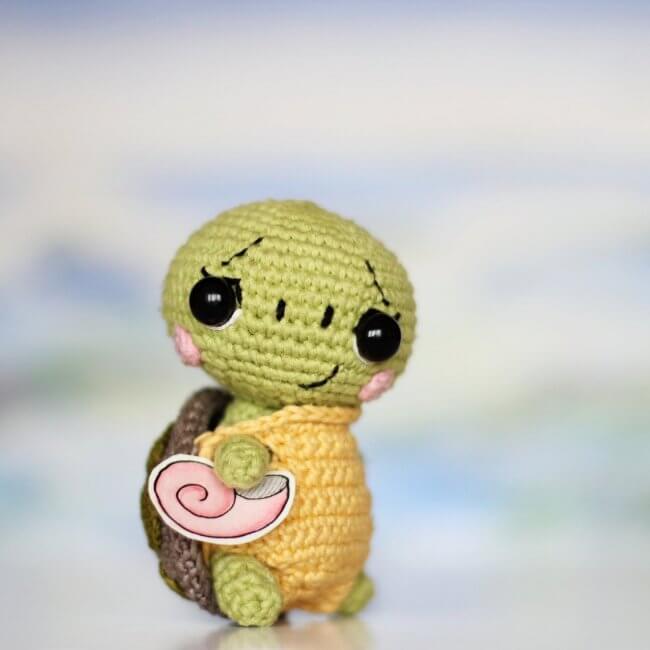 Pattern Crochet Turtle
