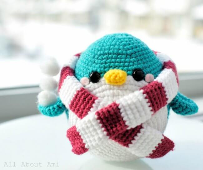 Pattern: Snuggles the Penguin