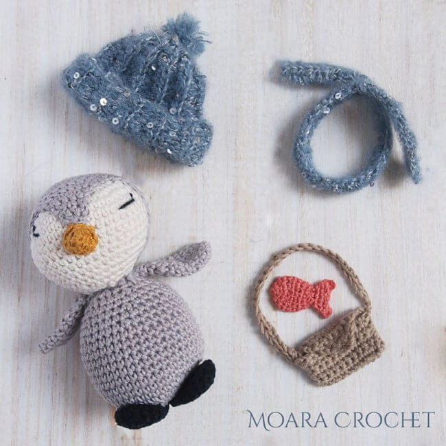 Pedro Crochet Penguin