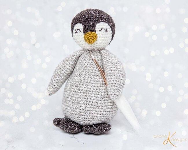 Penguin Buddy Crochet Pattern