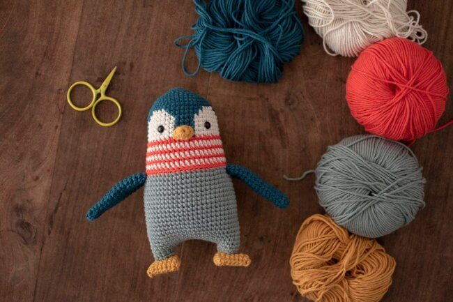 Pica Pau Amigurumi Crochet Toy Penguin Pattern